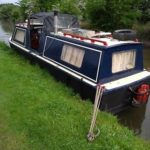 Canal And River Cruiser Boat