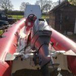 Rib Boat 40hp Yamaha Outboard Rigid Inflatable