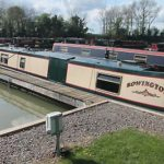 """58′ Semi Trad Narrowboat """"rowington"""" 1/12th Share For Sale  Now Reduced To £1750"""