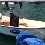 Bonwitco 385 Fishing, Rowing, Motor Boat With Trailer & 15hp Johnson Engine