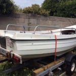 Orkney Fishing Boat 2 Outboard Engines And Trailer