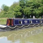 Beautiful 45ft Narrowboat Boat 'avalon' On The Kennet And Avon Canal At Devizes