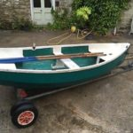 10ft Tender Dinghy Rowing Boat