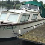 Canal Cruiser Dolphin 24 Brooklands Avaition,river Cruiser, Classic Boat