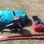 Inflatable Dinghy Tender Boat Avon Redcrest +4hp Engine