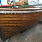 Barn Find, Classic Clinker Wooden Dinghy, Top Condition.