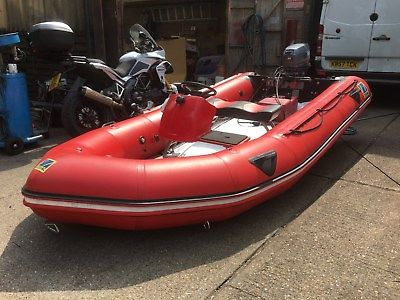 Zodiac Futura Mk2 Inflatable Boat 4 2m 25hp Yamaha Engine
