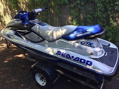 seadoo gtx di jet ski 3 seater excellent condition � cheap