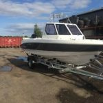2017 Piscator Frp 580 Fast Fisher Day Boat Fishing Boat Warrior
