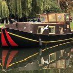 Widebeam Dutch Barge Liveaboard Very Homely Houseboat Canalboat