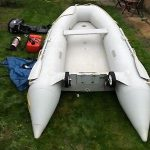 Quicksilver 3.4 Inflatable Boat And Outboard
