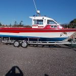 Sea Fishing Boat 3.7 Inboard Diesel Turbo, 35 Knots, Sea Rider 2001.