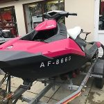 2015 Seadoo Spark 3up 90hp – Sbs Trailer – Cover – 3 Months Warranty!