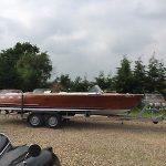 Classic Riviera Mahogany Speed Boat