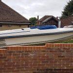 """Boat.    """"speedboat & Engine & Trailer"""